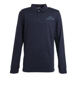 J.LINDEBERGゴルフウエア ポロシャツ メンズ 秋冬 Bridge Reg Fit 長袖ポロシャツ 071-23910-098
