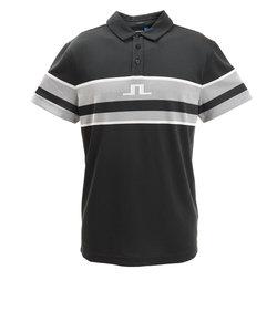 J.LINDEBERGゴルフウエア メンズ Cole Slim Fit-TX Jaq 半袖ポロシャツ 071-21942-019
