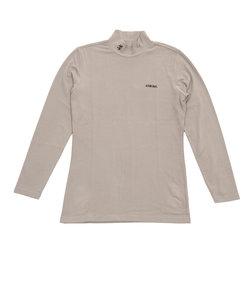 アドミラル(Admiral)無地ハイネックシャツ ADMA8T7-GRY