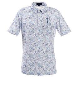 フィドラ(FIDRA)ゴルフ ポロシャツ メンズ ボタニカルポロシャツ FV57LG08 BLU