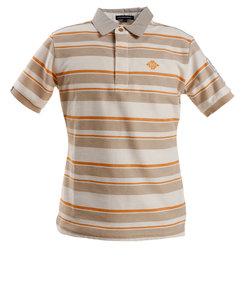 ROSASENポロシャツ ゴルフウェア メンズ マルチボーダーカノコ 044-29245-052