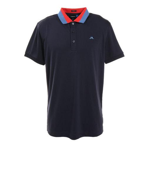 J.LINDEBERGゴルフウェア メンズ 半袖ポロシャツMATRegTXJERSEY071-29347-098
