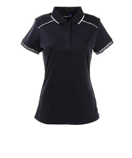 J.LINDEBERGゴルフウェア レディース W LUCA TX Coolmax Cut Polo 072-29540-098