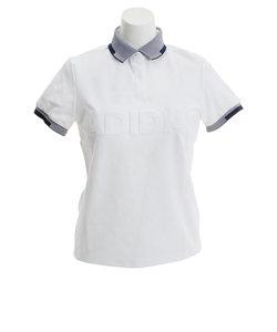 アディダス(adidas)ゴルフ ポロシャツ ゴルフウェア レディース ロゴ 半袖ポロシャツ GHQ37-EJ3199W