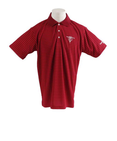 トランスコンチネンツ(TRANS CONTINENTS)ウェア メンズ ワッフルボーダー 半袖ポロシャツ 19STRZ08-RD オンライン価格