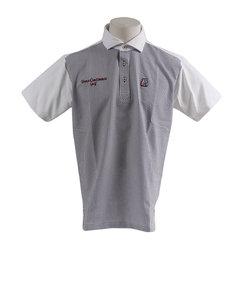 トランスコンチネンツ(TRANS CONTINENTS)ウェア メンズ 前見布帛ワイドカラー 半袖ポロシャツ 119STRZ10-WH オンライン価格