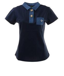 ビバハート(VIVA HEART)ゴルフウェア レディース 半袖ポロシャツ 012-29541-098