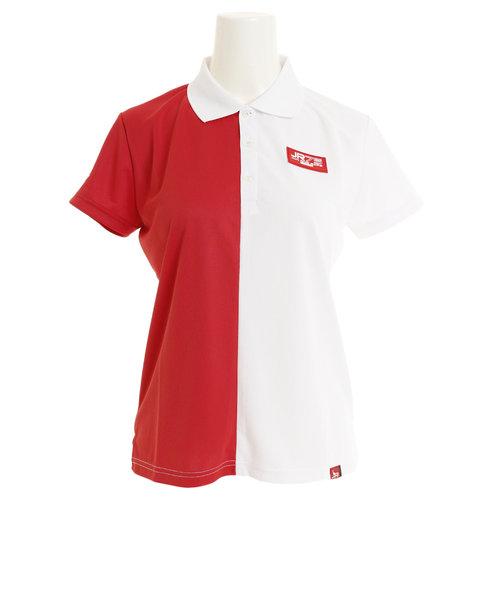 ジュンアンドロぺ(JUN&ROPE)ゴルフウェア レディース カラーブロッキングポロシャツ ERM29030-60