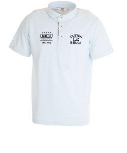 カッターアンドバック(CUTTER&BUCK)クーリストD-TECボーダーWDカラーシャツ CGMPJA32-SA00
