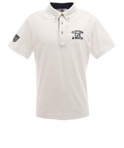 カッターアンドバック(CUTTER&BUCK)クーリストD-TECミニダイヤBDカラーシャツ CGMPJA26-WH00