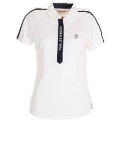 アドミラル(Admiral)スリーヴライン ポロシャツ ADLA002-WHT