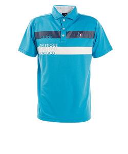 クランク(CLUNK)ショルダーラインポロシャツ CL5HTG09 BLU