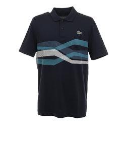 ラコステ(LACOSTE)グラフィックラインゴルフポロシャツ DH4761L-XSP
