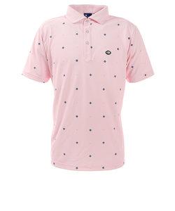 フィドラ(FIDRA)ゴルフ ポロシャツ メンズ コモンプリント ポロシャツ FD5HTG64 PNK