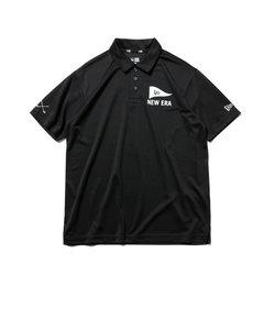 ニューエラ(NEW ERA)ゴルフ ポロシャツ テックポロ ピンフラッグ ロゴ 12542719