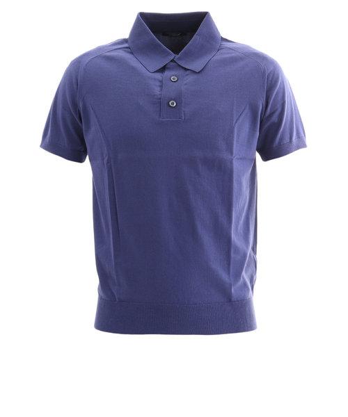 サマス(SAMAS)ゴルフウェア メンズ 半袖ポロシャツ GNC-U01 BLU
