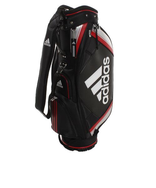 アディダス(adidas)ゴルフ キャディバッグ メンズ ベーシック XA227-CL0600BK/R ネームタグ&フードカバー付 軽量