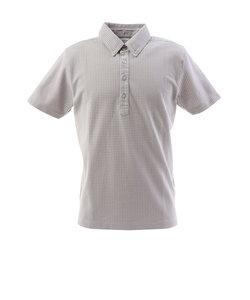 フィドラ(FIDRA)ゴルフ ポロシャツ メンズ チェックボタンダウンポロシャツ FI57TG97 GRY