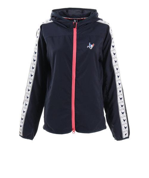 クランク(CLUNK)ゴルフウェア レディース パッカブルウインドジャケット CL51UY02 NVY