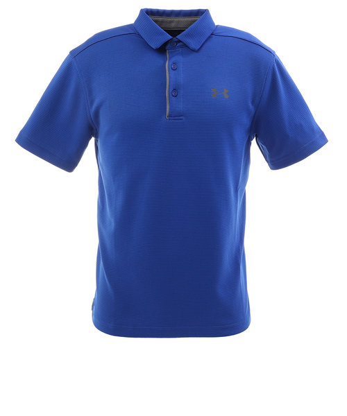 アンダーアーマー(UNDER ARMOUR)ゴルフ ポロシャツ メンズ テックポロシャツ 1290140 RYL/GPH/GPH GO