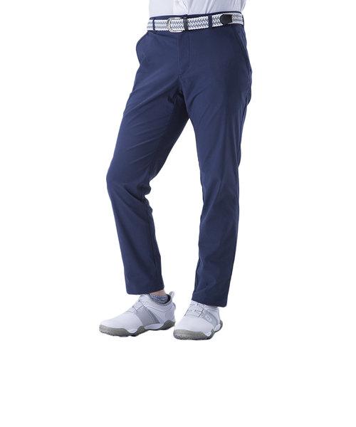 トランスコンチネンツ(TRANS CONTINENTS)ゴルフウェア メンズ 9分丈市松 ストレッチ アンクル丈パンツ 19STRZ18-NV