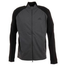 アディダス(adidas)ゴルフ ニット メンズ パフォーマンス ニットジャケット GHV02-EJ7316ブラック
