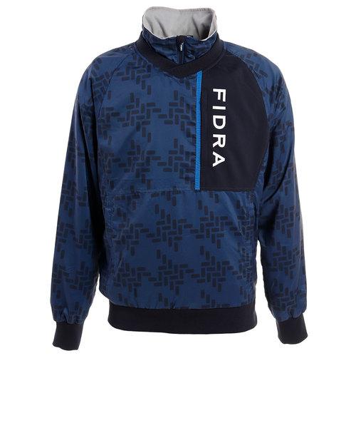 フィドラ(FIDRA)ゴルフウェア メンズ 千鳥プルオーバー FD5GTY02 NVY