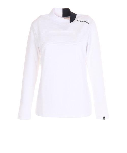 テーラーメイド(TAYLORMADE)ブロックニットロングスリーブモックシャツ KW983-V94242