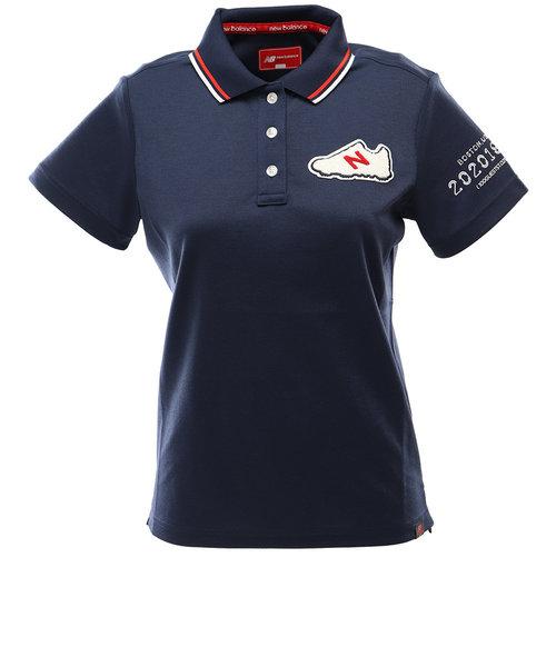ニューバランス(new balance)ゴルフ ポロシャツ レディース スパン×フィラメントカノコ 半袖012-0160504-120