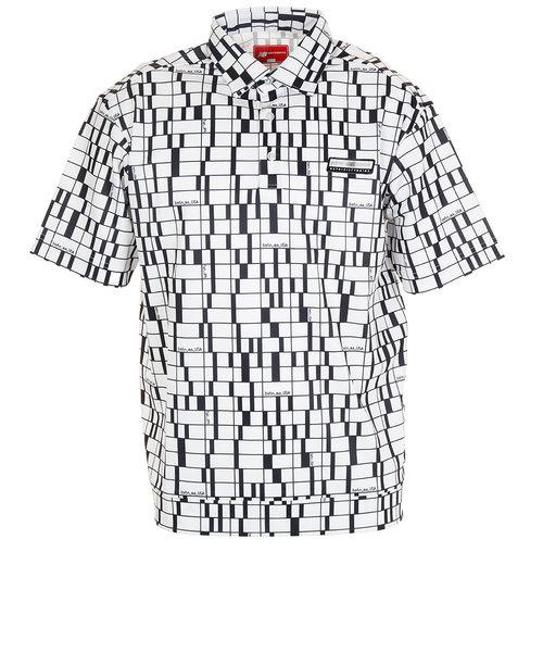 ニューバランス(new balance)ゴルフ ポロシャツ メンズ ショートスリーブ カラーシャツ 012-0168005-030