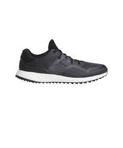 アディダス(adidas)ゴルフシューズ スパイクレス メンズ クロスニット DPR EE9130BK/W