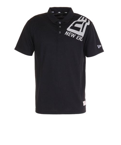 ニューエラ(NEW ERA)CVC 鹿の子ポロシャツ ドットフラッグ ショルダー 12540144