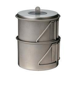 スノーピーク(snow peak)ソロセット 極 チタン Mini Solo Cook Set Titanium SCS-004TR キャンプ用品 調理器具