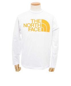 別注 L/S SIMPLE LOGO TEE メンズ 長袖Tシャツ NT31701X ZO ジニアオレンジ