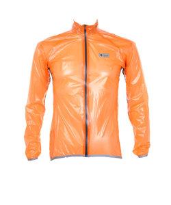 クリアレインジャケット 男女兼用 メンズ レディース 自転車 ウェア lirj002 シャインオレンジ
