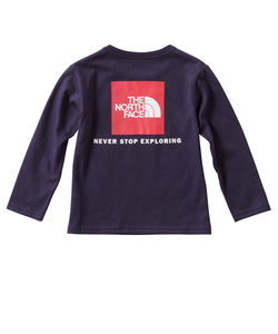 L/S SQUARE LOGO T 長袖Tシャツ NTJ81630 CM