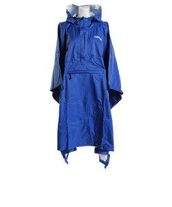 レインウェア 防水 レインポンチョ 561E8KLG4801 BLU レインコート