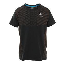 クルーネック 半袖Tシャツ X-LIGHT 312302 black-orange clown fish