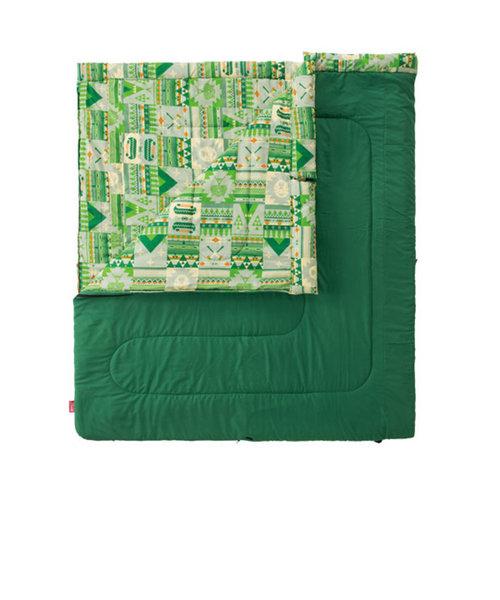 コールマン(Coleman)送料無料(対象外地域有)寝袋 シュラフ 寝具 コンパクト 軽量 キャンプ用品 ファミリー2 in1/C10 2000027256