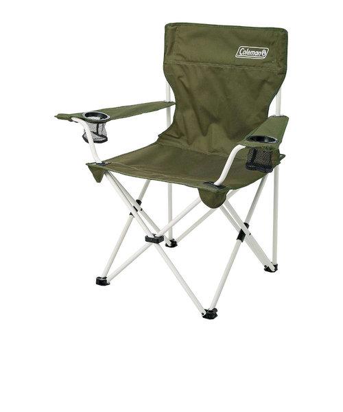 コールマン(Coleman)チェア 折りたたみ椅子 スチール アウトドア リゾートチェア (オリーブ)2000033560バーベキュー キャンプ スチール 緑…