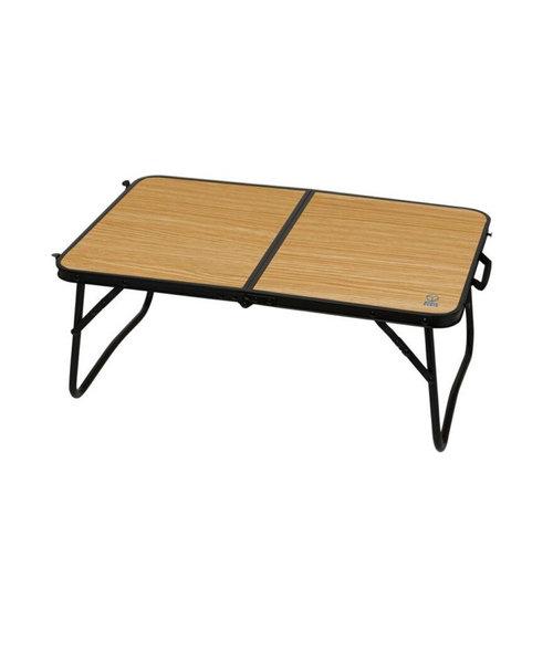 ホールアース(Whole Earth)テーブル 折りたたみ アウトドア キャンプ おうち時間 ソロキャンプ コンパクト60-40 WE23DB40 BEG