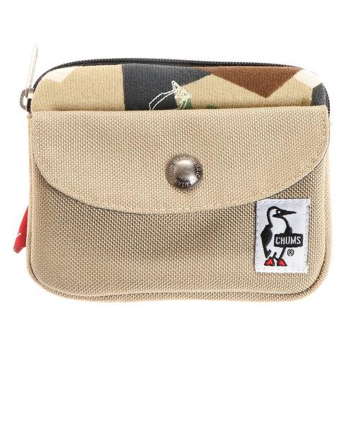 チャムス(CHUMS)財布 ポケットサイズウォレット スウェットナイロン CH60-2924-Z018