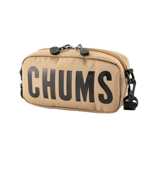 チャムス(CHUMS)エコ チャムスロゴ ショルダーポーチ CH60-3023-B003