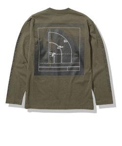 ノースフェイス(THE NORTH FACE)長袖Tシャツ ロンT ロングスリーブスリーブグラフィックTシャツ NT32042 NT