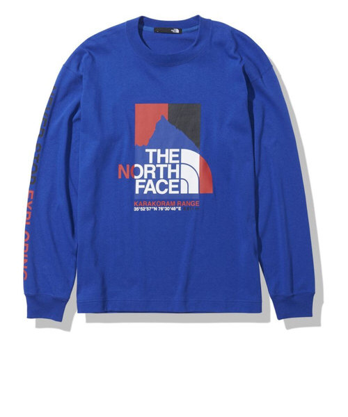 ノースフェイス(THE NORTH FACE)長袖Tシャツ ロンT ロングスリーブカラコラムレンジティー NT32131 TB