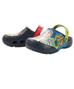クロックス(crocs)サンダル キッズ プール ファン ラブ ディズニー&ピクサー バズ & ウッディ クロッグ 205493-410