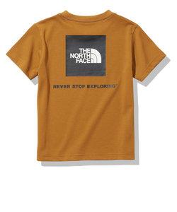 ノースフェイス(THE NORTH FACE)ジュニア ショートスリーブスクエアロゴティー NTJ32142 GB