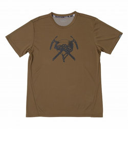フェニックス(PHENIX)半袖Tシャツ MOUNTAIN GEAR PH912TS13 BR