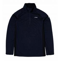 フェニックス(PHENIX)長袖Tシャツ ロンT FIT 1/2 ジップ Tシャツ PH952LS11 NV