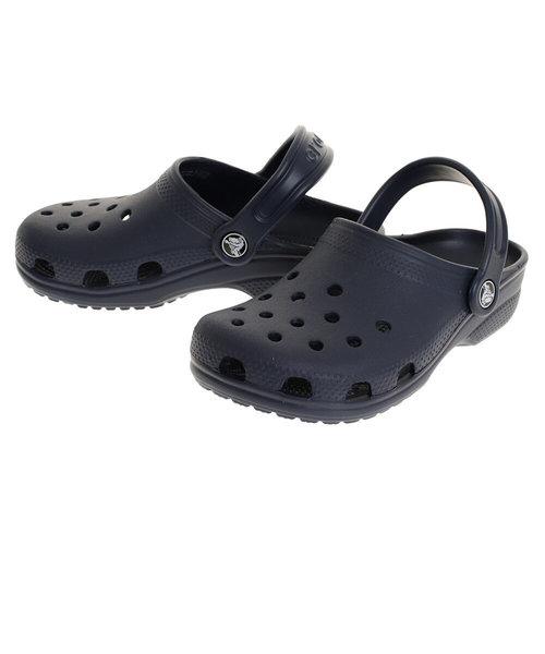 クロックス(crocs)サンダル クラシック クロッグ キッズ Navy 204536-410 オンライン価格